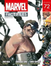 Marvel Fact Files #72 Eaglemoss Publications